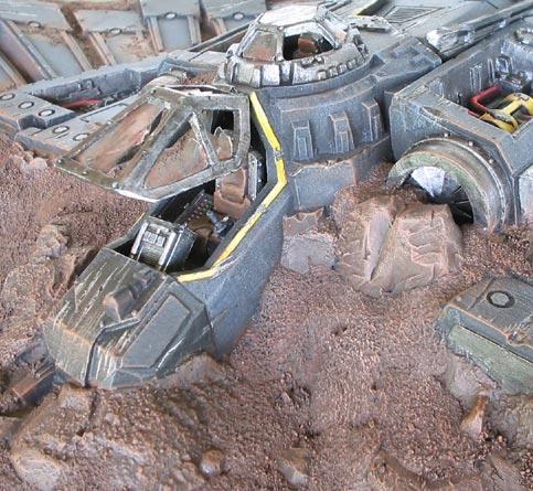 Reassembled Aquila Shuttle, by Iain (insaniak) Wilson